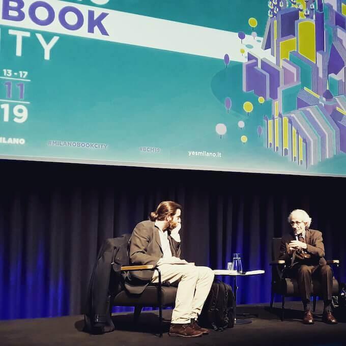 Carlo Greppi e Luciano Canfora a BookCity Milano 2019