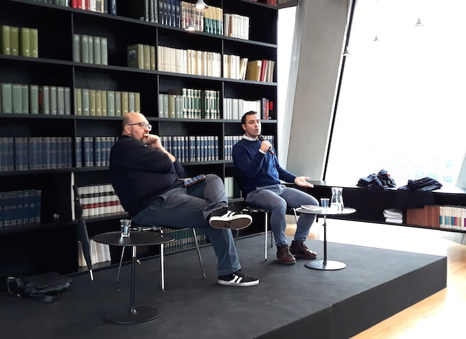 Claudio Visentin e Federico Meda alla Fondazione Feltrinelli per BookCity Milano 2019