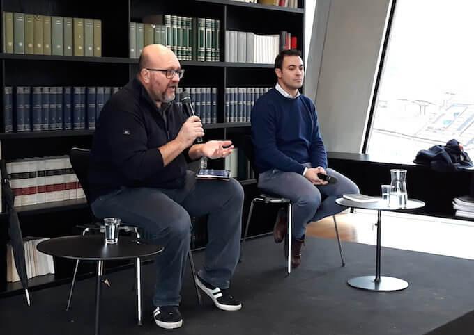 Claudio Visentin e Federico Meda a BookCity Milano 2019