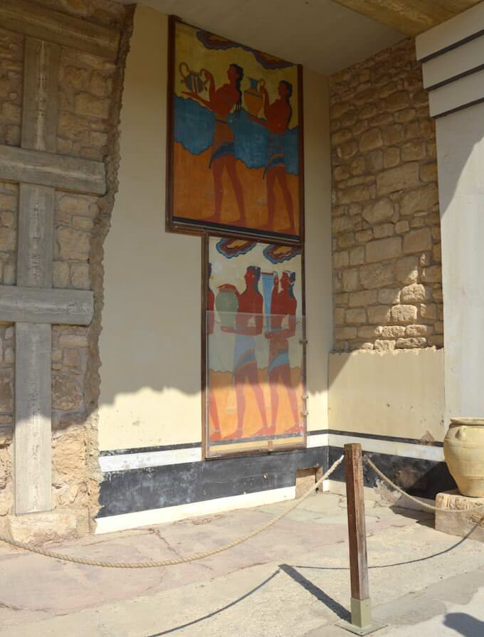 Cnosso: affreschi dei coppieri