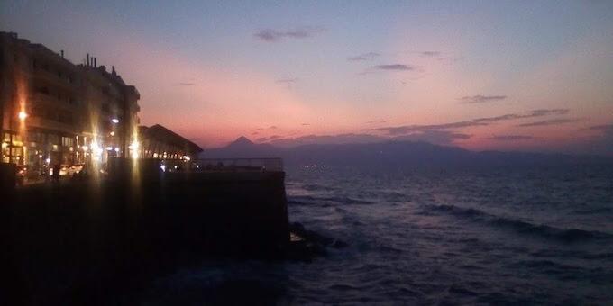 Tramonto a Iraklio, Creta