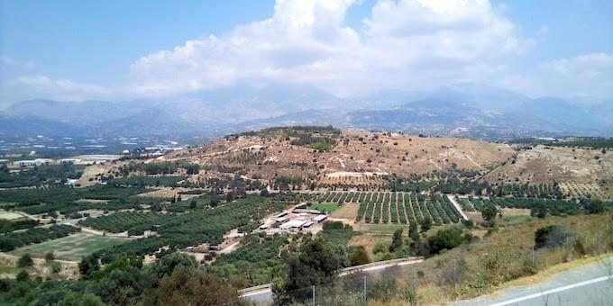 Il Monte Ida a Creta