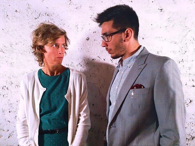 """Irene Serini e Filippo Renda in """"Fake"""""""