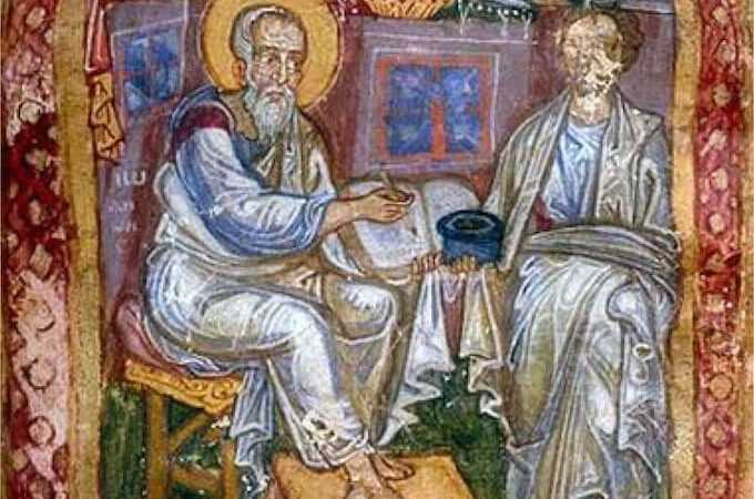 L'apostolo Giovanni e Marcione di Sinope Italia, XI secolo, MS 748, Morgan Library - New York