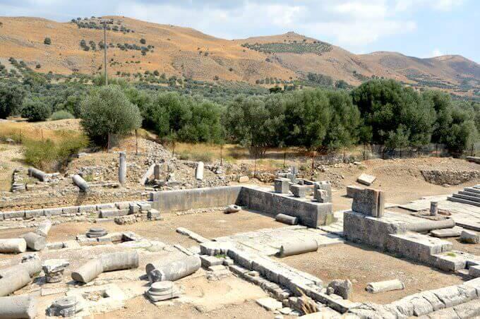 Il tempio di Apollo a Gortina (Creta)