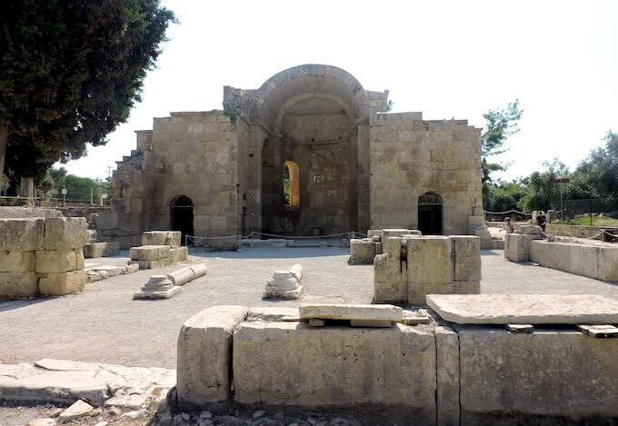 La basilica di San Tito a Gortina