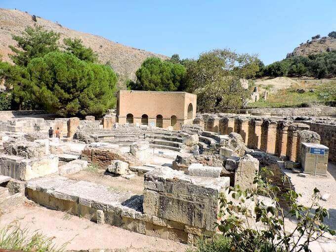 Il teatro di Gortina