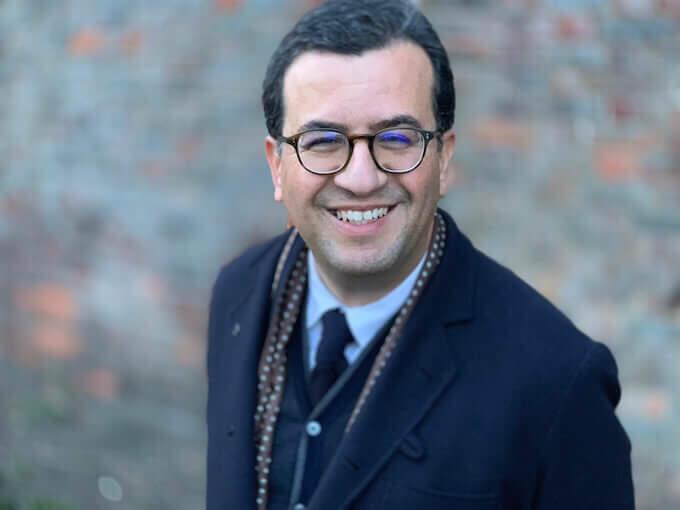 Lo scrittore Hisham Matar