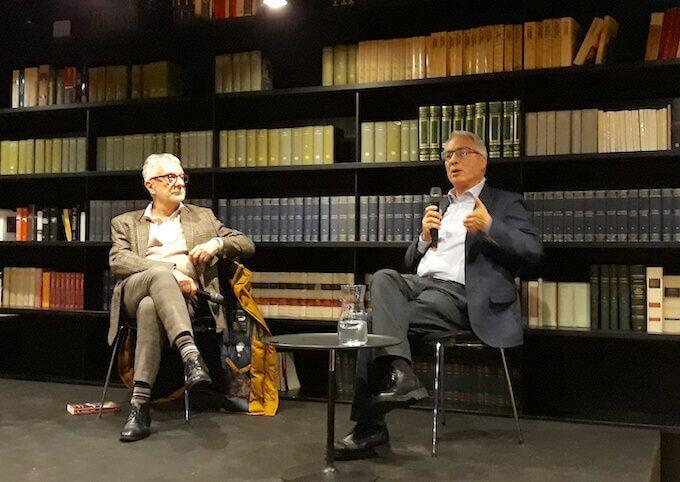 Gian Piero Piretto e Luciano Mecacci a BookCity Milano 2019
