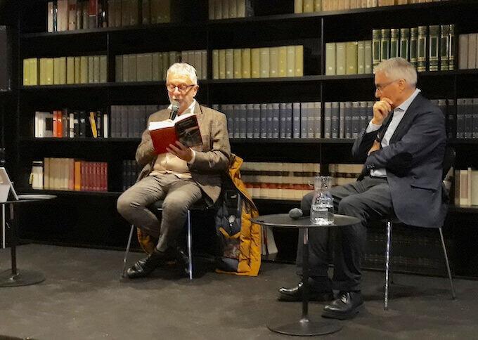 Gian Piero Piretto e Luciano Mecacci a BookCity 2019