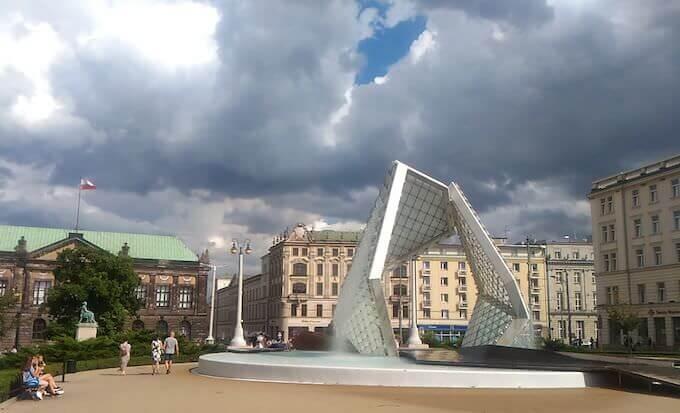 Poznań: Piazza della Libertà