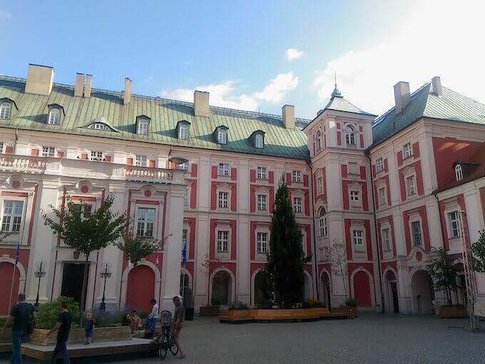 Il Collegio dei Gesuiti a Poznań (Polonia)