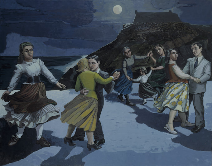 Paula Rego, The Dance, 1988, Acrylic paint on paper on canvas, 2126 x 2740 mm. Tate: Purchased 1989. © The Artist, courtesy Marlborough London. Photo: © Tate, 2019