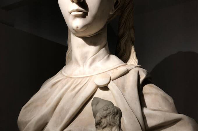 Benedetto Briosco, Sant'Agnese, marmo di carrara, cm 191x69x42, 1491, © Veneranda Fabbrica del Duomo di Milano