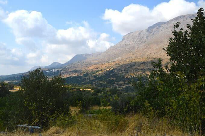 Verso Rethimno a Creta