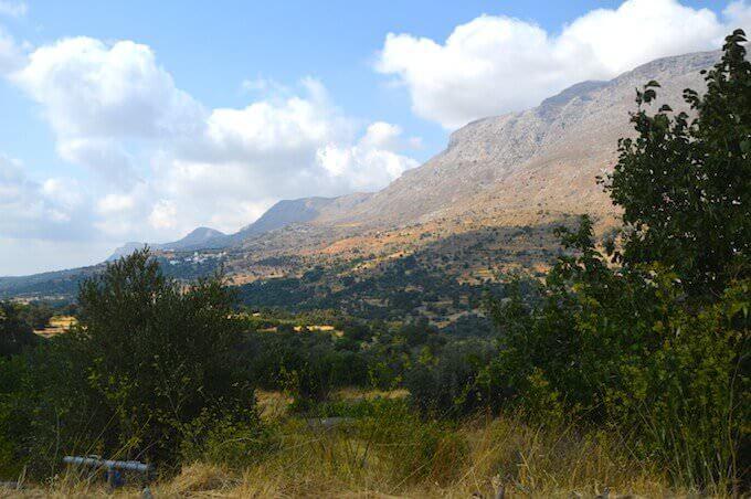 Scendendo verso Rethimno (Creta)
