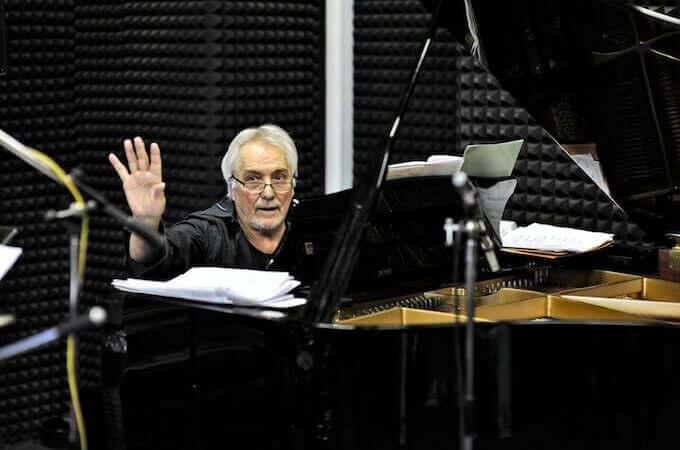 Enrico Intra (foto di Attilio Marasco)