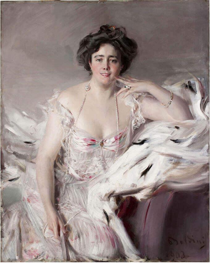 Giovanni Boldini, Ritratto di Nanne Schrader, Collezione privata