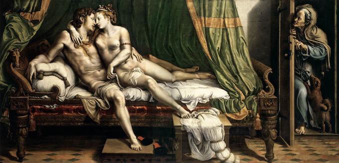 Giulio Romano, Due amanti, San Pietroburgo, e State Hermitage Museum
