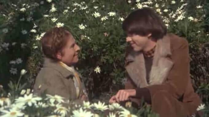"""Una scena del film """"Harold e Maude"""" di Hal Ashby"""