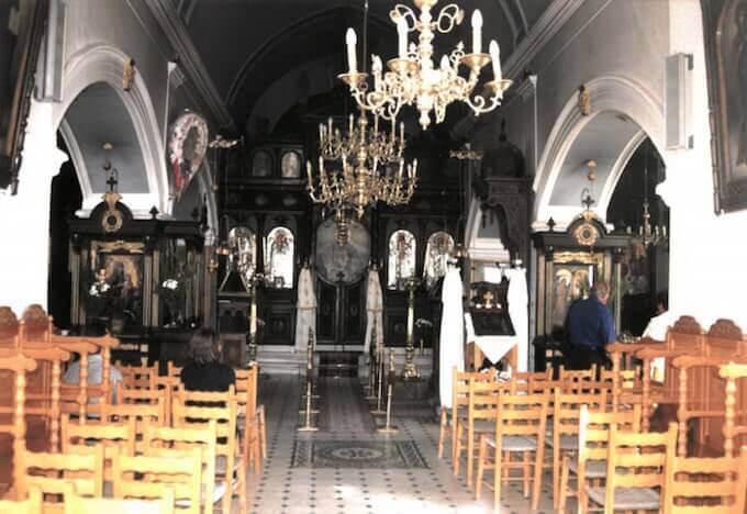 La Chiesa di Nostra Signora degli Angeli a Rethimno