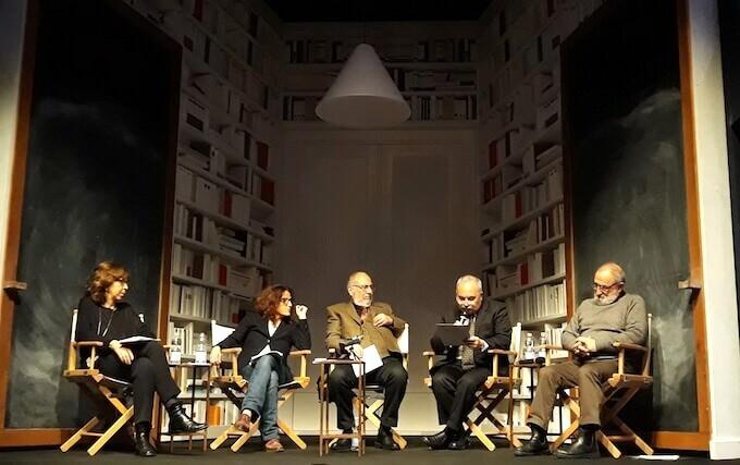"forum ""El idioma de Borges"" al Teatro Franco Parenti di Milano"