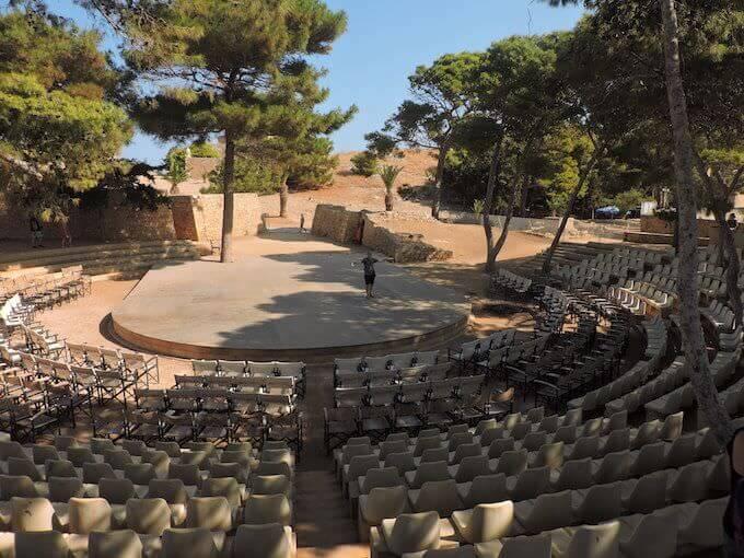 Il teatro di Rethimno (Creta)