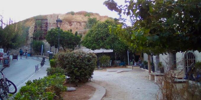 Il Bastione Schiavo a Chania