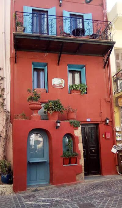 Un'abitazione di Chania a Creta