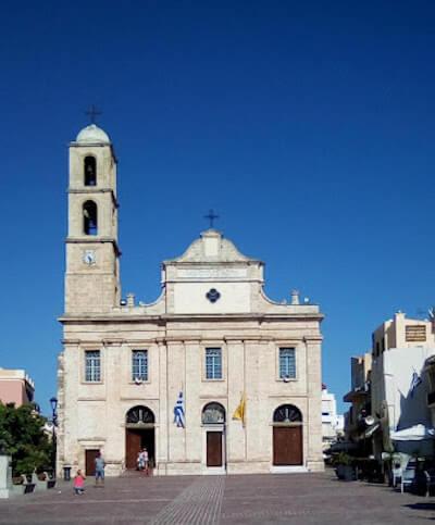 La Cattedrale di Chania a Creta