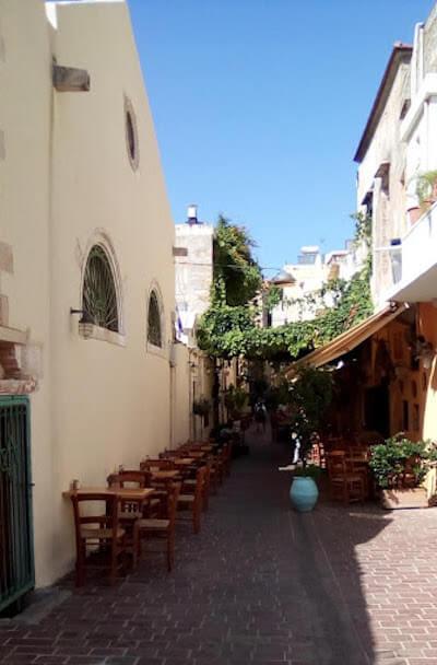 La Sinagoga di Chania (Creta)