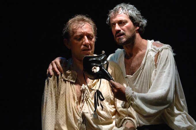 """Ciro Damiano e Claudio Di Palma in """"Shakespea Re di Napoli"""""""