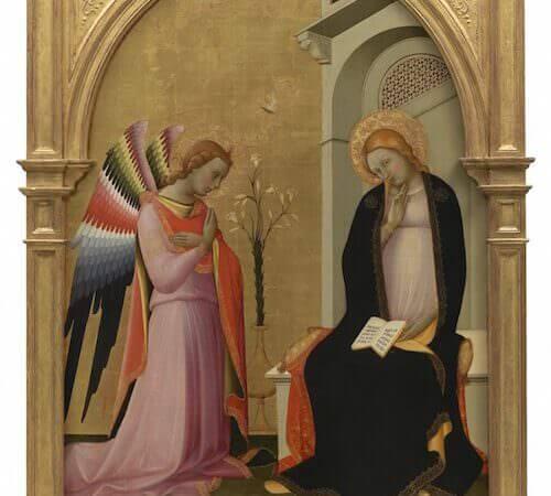Lorenzo Monaco, Annunciazione, Collezione Alana