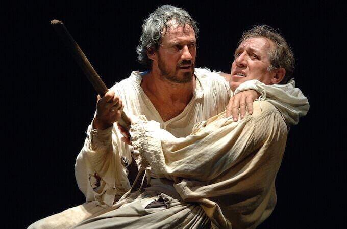 """Claudio di Palma e Ciro Damiano in """"Shakespea re di Napoli"""""""