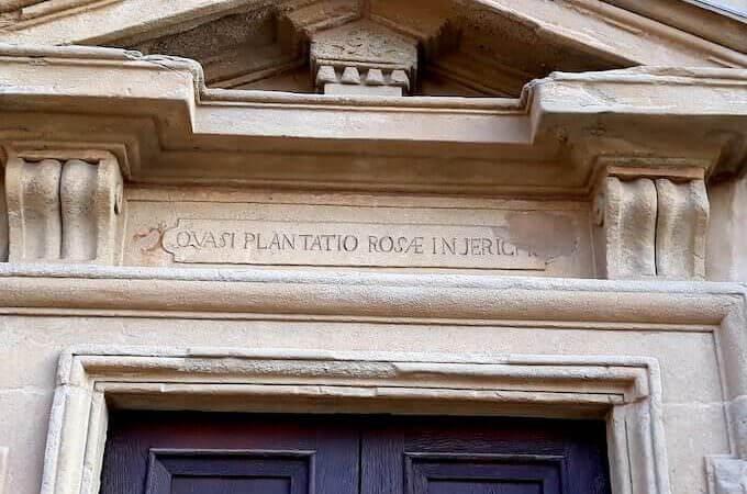 """""""Quasi plantatio rosae in Jericho"""": Santuario della Beata Vergine del Rosario"""