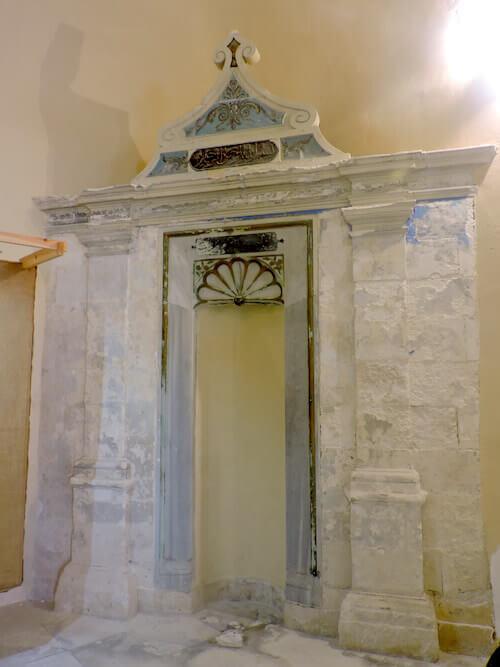 Il mihrab della Moschea di Chania a Creta