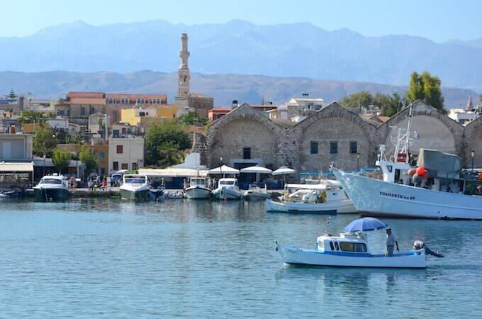 Chania: il campanile e il minareto