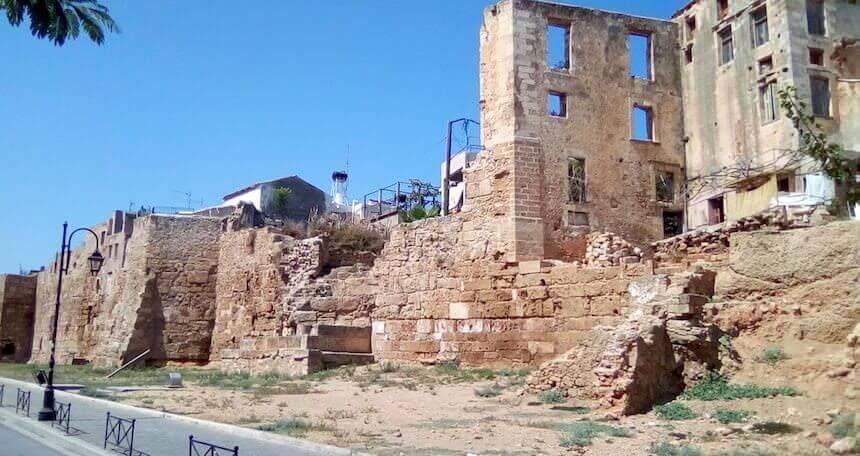 Ruderi a Chania, Creta