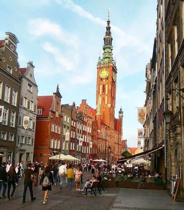 Danzica: la via reale, il Mercato Lungo e il Municipio