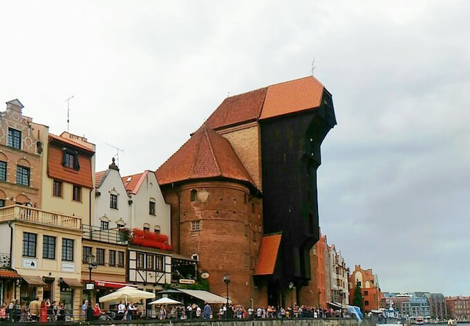 Danzica: la grande gru medievale