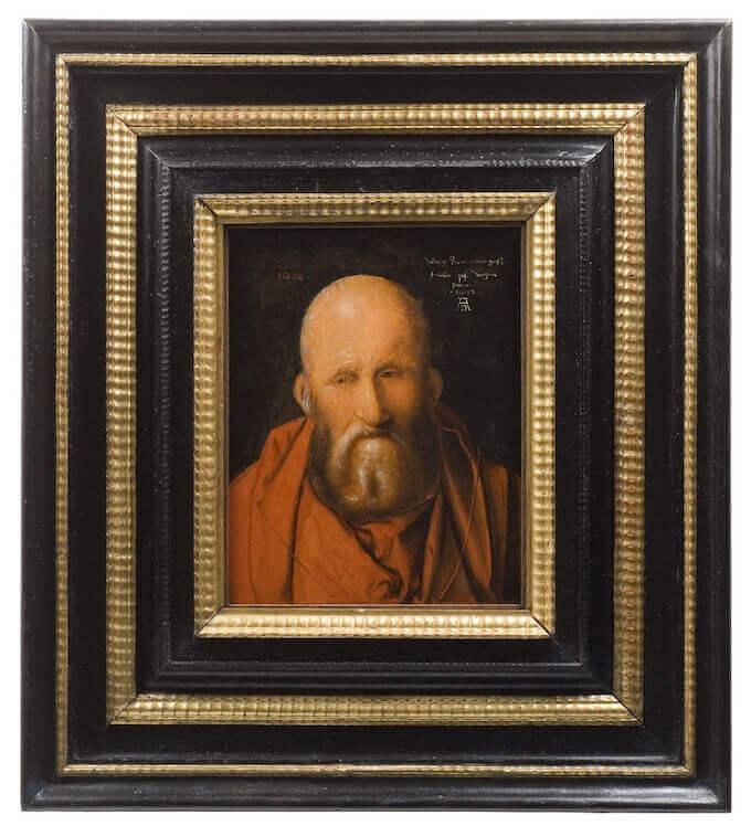 Dürer, San Girolamo. Pinacoteca di Siena