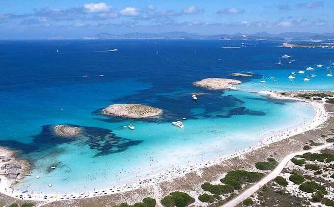 Formentera: Playa di Ses Illetes