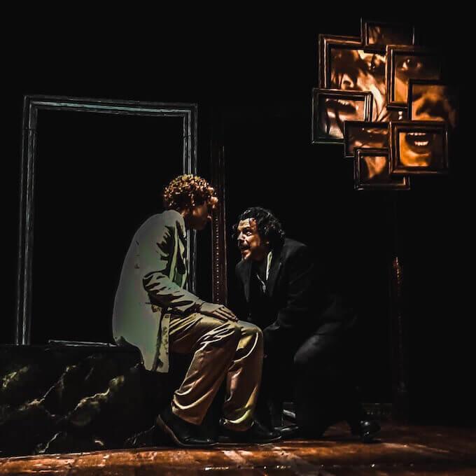 "Giuseppe Attanasio e Mino Manni ne ""L'idiota"" di Dostoevskij"