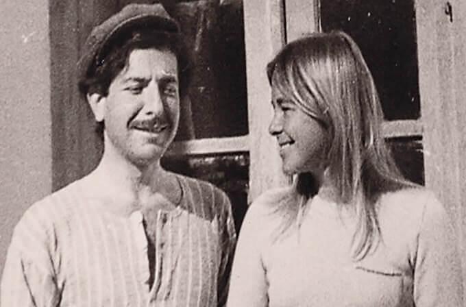 Leonard and Marianne Copyright Aviva Layton