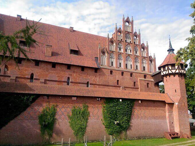 Malbork: uno degli edifici del complesso del castello