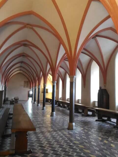 Castello di Malbork: refettorio dei Cavalieri Teutonici