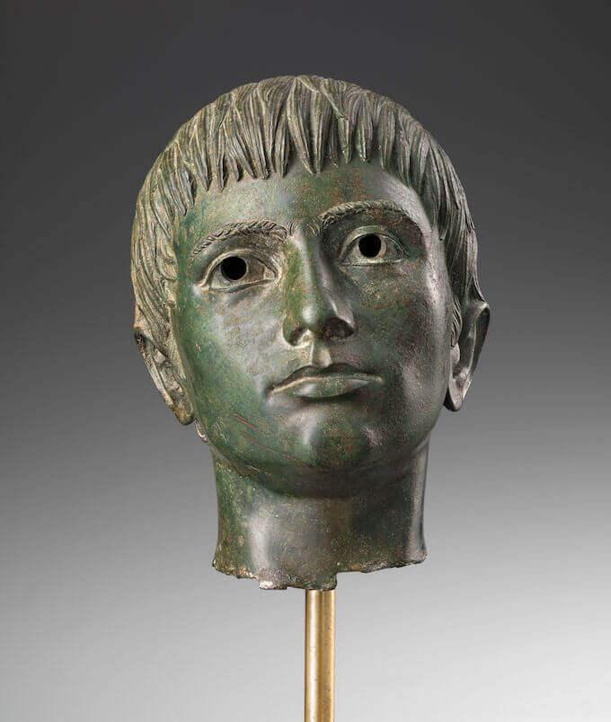 Testa di giovinetto da Fiesole. 330 a.C. circa Firenze, Museo Archeologico Nazionale, Polo Museale della Toscana