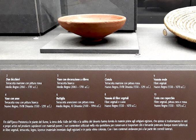"""Una didascalia della mostra """"Mummie"""" al Museo Archeologico di Firenze"""