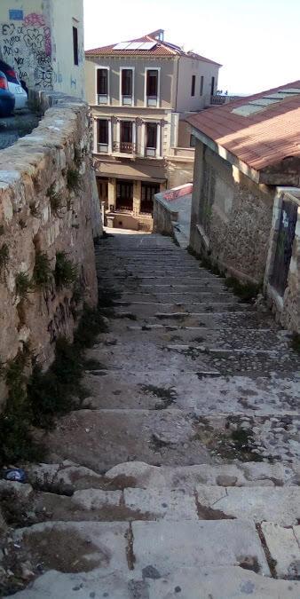 Scalea a Chania, Creta