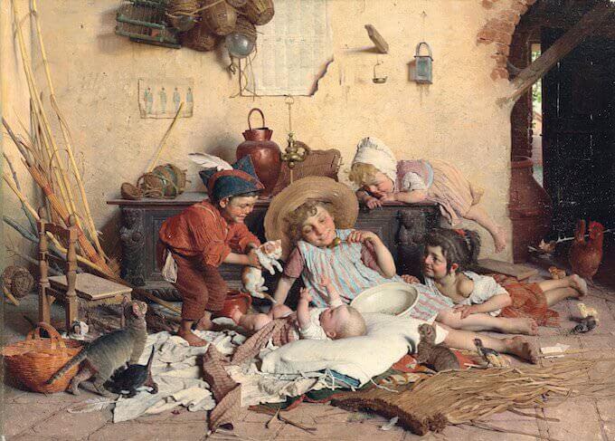 Gaetano Chierici, La piccola mamma
